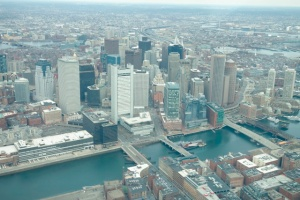 Downtown Boston.