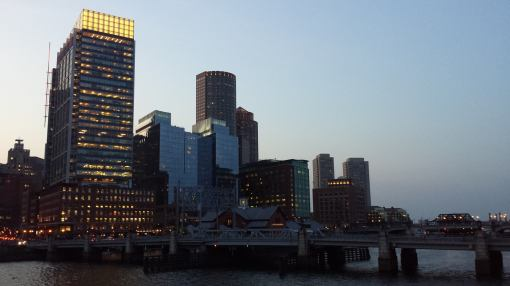 Where we started: Downtown Boston.