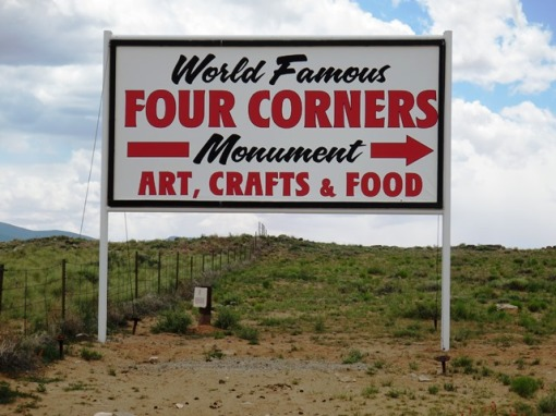 Step right up to the world famous four corners.