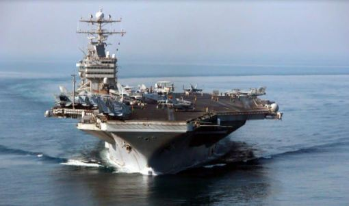 USS Abraham Lincoln: My home away from home for two months in early 2003.